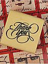 3 Styles DIY Merci PatternWood Alphabet Stamp