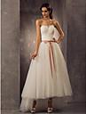Lanting Bride® A-line / Princess Petite / Plus Sizes Wedding Dress - Classic & Timeless / Elegant & Luxurious / Reception Spring 2014