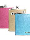 Personalizate cadouri Splash 8 uncii din piele PU cu majuscule Flask