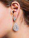 Drop Earrings Women\'s Alloy Earring Rhinestone