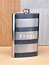 Gift Groomsman Personalized Sstainless Steel 10-oz Flask
