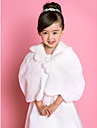Wedding / Party/Evening / Casual Faux Fur Shawls / Ponchos Sleeveless Kids Wraps