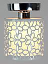 Max 60W Takmonterad ,  Modern Målning Särdrag for Ministil Metall Living Room / Bedroom / Dining Room