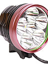 Eclairage de Velo , Lampes frontales / Eclairage de bicyclette/Eclairage velo - 3 Mode 5500 Lumens 18650 x 4 Batterie