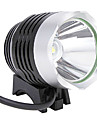4400MAh Cree T6 LED Cycling Bicycle Bike Silver Headlight Headlamp Kit Set