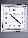 """16.25 """"H style moderne Horloge murale en metal"""