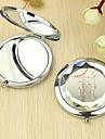 Personlig Present Hjärta och Lover Mönster Chrome Compact Mirror