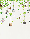 사진 벽 스티커, 식물 나무 새 달콤한 기억
