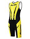KOOPLUS® Triathlondräkt Dam / Herr / Unisex Ärmlös Cykel Andningsfunktion / Snabb tork / Fuktgenomtränglighet / Bärbaröverdrags /