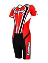 KOOPLUS® Tenue de Triathlon Femme Homme Unisexe Manches courtes Velo Respirable Sechage rapide Permeabilite a l\'humidite Vestimentaire