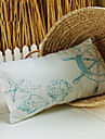 "20*12"" Retangular Elegant Embroidery  Polyester Decorative Pillow With Insert"