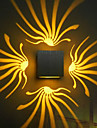 Applique murale a LED, aluminium elegant oxydation (couleurs assorties)