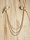Canlyn Kvinnors Vintage Multilayer guldkedja Pannband