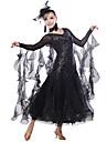 Brilliant Performance Sequin Spandex Viscose Modern Dance Dress(More Colors)
