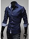 Men\'s Fashion Solid Color Shirt