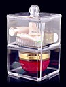 Rangement pour Maquillage Boite de maquillage / Rangement pour Maquillage Acrylique Couleur Pleine 17x9x9