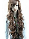 perruques synthetiques perruques ondulees corps longues perruques bang resistant a la chaleur