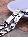Personlig Present Män smycken Rostfritt stål Graverade ID Armband 1.2cm Bredd