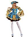 Cosplay Kostymer/Dräkter / Festklädsel Film- och TV-kostymer Festival/Högtid Halloween Kostymer Blå Lappverk Klänning / HattHalloween /