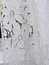 pays un panneau florales botaniques chambre blanche rideaux de polyester pure nuances