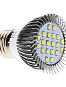 5W E26/E27 Ampoules Mais LED MR16 20 SMD 2835 370-430 lm Blanc Froid AC 100-240 V