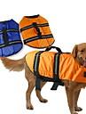 Hundar Vest / Livväst Blå / Orange Hundkläder Sommar / Vår/Höst Klassisk Vattentät Doglemi
