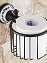 """Toalettpappershållare Oljegniden brons Väggmonterad 127 x 95x 65mm (5 x3.74 x2.55"""") Mässing Traditionell"""