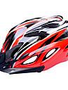 Casque Velo (Rouge / Noir , PC / EPS)-de Femme / Homme / Unisexe - Cyclisme Route / Sports / Half Shell 18 AerationM : 55-59cm / L :