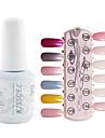 YeManNvYou®1PCS Sequins UV Color Gel Nail Polish No.109-120 Soak-off(15ml,Assorted Colors)