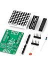 diy max7219 red ledde matrisdisplaymodul för (för Arduino) (fungerar med de officiella (för Arduino) skivor)