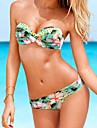 Femei sexy Floral Push Up Beach Costume de baie Bikini Set
