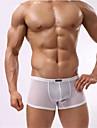 Bărbați Solid Boxeri Briefs(Poliester Spandex)