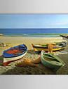 Handmålade olja Seascape Painting Landskap 1211-LS0216