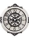 """20 """"H ceramique de style retro de couleur Horloge murale Blanc"""