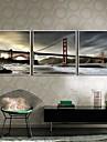 Paysage Toile Encadree / Set de Cadres Wall Art,PVC Blanc Sans Passepartout Avec Cadre Wall Art