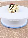 Plastic Cake Turntable, 28.5x28.5x9.5cm