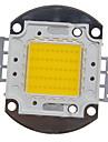 ZDM ™ diy 50W hög effekt 4000-5000lm varmvitt ljus integrerade LED-modul (32-35v)