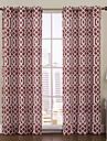 en panel aaron rost tryckt genomför topp 84 tum gardin