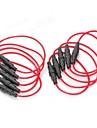 5 x 20mm Porte-fusible Base - (rouge + noir) (10 PCS)