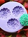 Moule de Cuisson Fleur Pour Gateau Pour Cookie Pour Tarte Silikon Bricolage Ecologique Papier a cuire