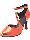 skräddarsydda kvinnors pu övre latin dansskor sandaler med Cullen