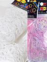 baoguang®600pcs regnbågens färger vävstol uv ändra färg mode vävstol gummiband (1package s klipp)