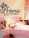 Doudouwo ® Ord och citerar Princess Words Wall Stickers