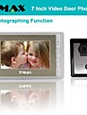 "TMAX® 7"" LCD Photographing Video Door Phone with 500TVL Night Vision Camera"