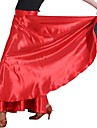 Dancewear Women\'s Elastic Woven Satin Shantung Latin/Modern Dance Skirt/Manteau