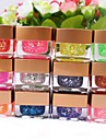 12 Colors Glitter Slice UV Gel Nail Art(8ml,Random Color)