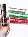 Belysning LED-Ficklampor / Ficklampor / Klämmor och fästen LED 1000 Lumen 3 Läge Cree XM-L T6 18650Justerbar fokus / Vattentät /