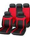 Siege 9 pcs mis en poissons de tissu de couture net couvre accessoires de voiture d\'ajustement universel