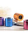 Trådlösa Bluetooth-högtalare 1.0 CH Bärbar / Utomhus / Mini / Stereo / Super bas