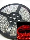 5M 75W 300x5050 SMD LED 635-700nm DC12V IP68 Waterproof Strip Light Red